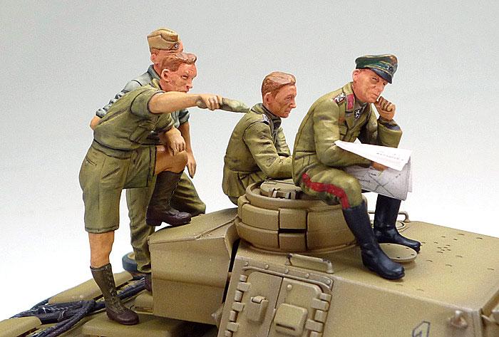 ドイツ 3号戦車 L型 ロンメル野戦指揮セット (人形6体付き)プラモデル(タミヤ1/35 ミリタリー コレクションNo.32405)商品画像_3