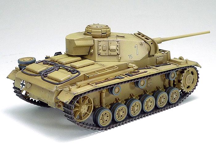 ドイツ 3号戦車 L型 ロンメル野戦指揮セット (人形6体付き)プラモデル(タミヤ1/35 ミリタリー コレクションNo.32405)商品画像_4