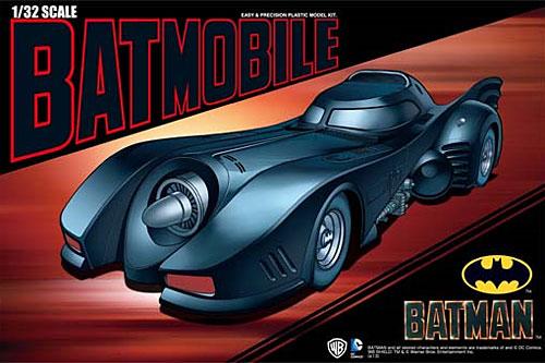 バットマン バットモービルプラモデル(アオシマムービーメカシリーズNo.006962)商品画像