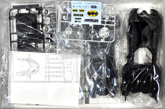 バットマン バットモービルプラモデル(アオシマムービーメカシリーズNo.006962)商品画像_1