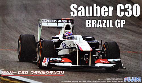 ザウバー C30 ブラジルGP 小林可夢偉 ドライバーフィギュア付プラモデル(フジミ1/20 GPシリーズ SP (スポット)No.SP025)商品画像