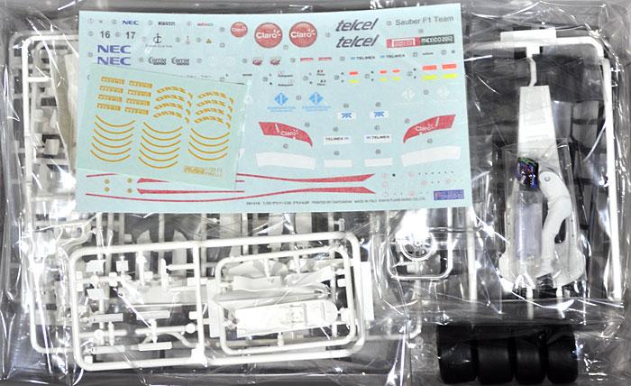 ザウバー C30 ブラジルGP 小林可夢偉 ドライバーフィギュア付プラモデル(フジミ1/20 GPシリーズ SP (スポット)No.SP025)商品画像_1