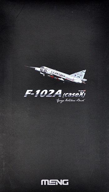 F-102A デルタダガー 戦闘機 (ケース X) ジョージ・W・ブッシュ機プラモデル(MENG-MODELディモルフォドン シリーズNo.DS-003s)商品画像