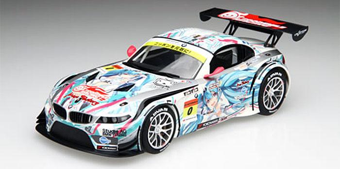 GSR 初音ミク BMW BMW Z4 GT3 2012 スーパーGT Rd.2 富士プラモデル(フジミRacing ミク シリーズNo.189901)商品画像_2