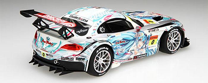 GSR 初音ミク BMW BMW Z4 GT3 2012 スーパーGT Rd.2 富士プラモデル(フジミRacing ミク シリーズNo.189901)商品画像_3