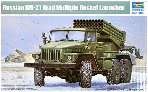 ロシア BM-21 グラート 初期型プラモデル(トランペッター1/35 AFVシリーズNo.01013)商品画像