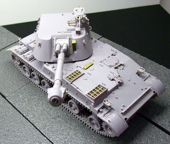 ソビエト 2S3 アカーツィヤ 152mm自走榴弾砲プラモデル(トランペッター1/35 AFVシリーズNo.05543)商品画像_4