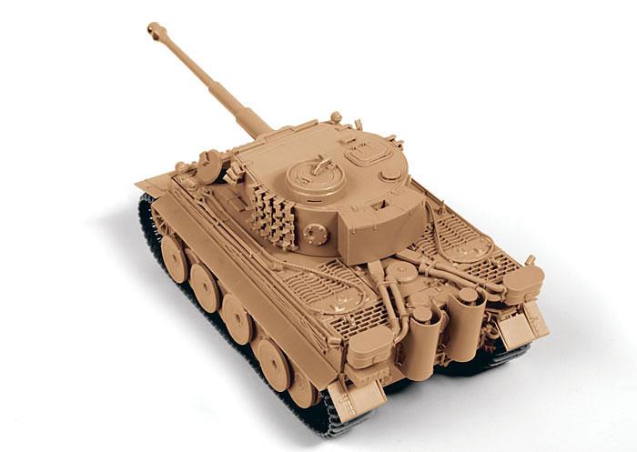 ドイツ重戦車 タイガー 1 初期型プラモデル(ズベズダ1/35 ミリタリーNo.3646)商品画像_2