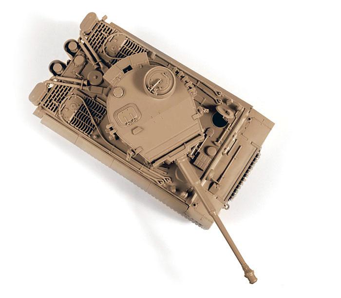 ドイツ重戦車 タイガー 1 初期型プラモデル(ズベズダ1/35 ミリタリーNo.3646)商品画像_3