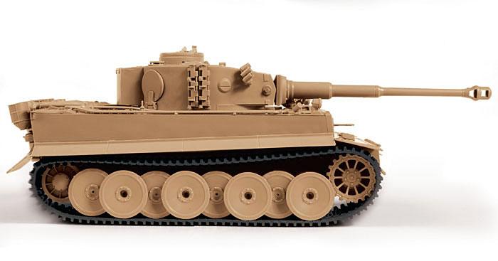 ドイツ重戦車 タイガー 1 初期型プラモデル(ズベズダ1/35 ミリタリーNo.3646)商品画像_4