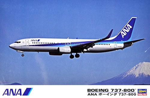 ANA ボーイング 737-800プラモデル(ハセガワ1/144 飛行機 限定生産No.10693)商品画像