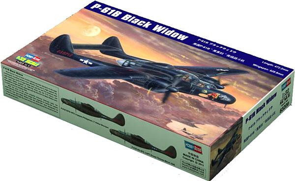 P-61B ブラックウィドウプラモデル(ホビーボス1/32 エアクラフト シリーズNo.83209)商品画像