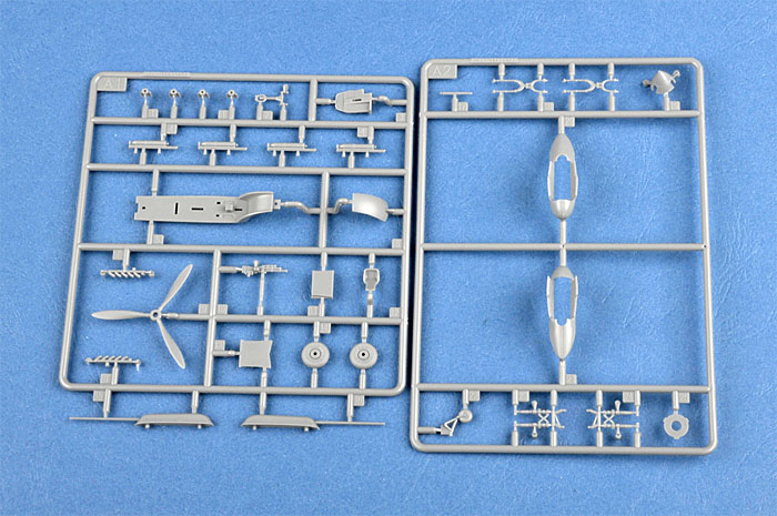 IL-2M3 シュトゥルモヴィクプラモデル(ホビーボス1/72 エアクラフト プラモデルNo.80285)商品画像_4