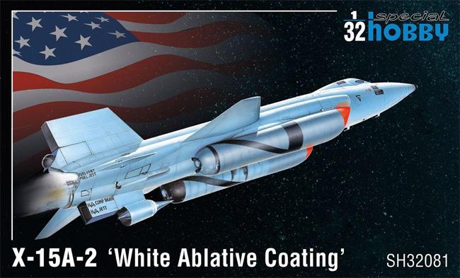 X-15A-2 アブレーション冷却塗装プラモデル(スペシャルホビー1/32 エアクラフトNo.SH32081)商品画像