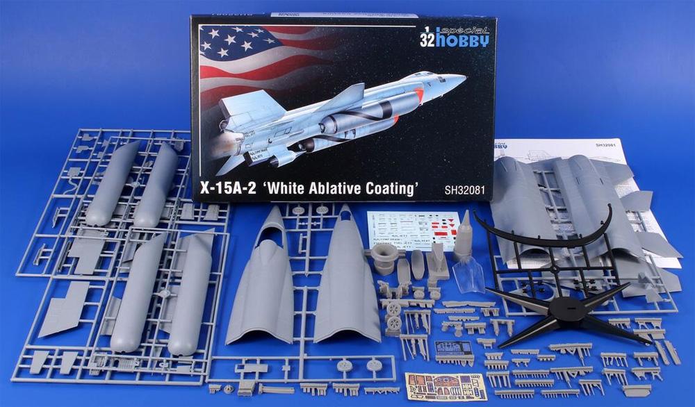 X-15A-2 アブレーション冷却塗装プラモデル(スペシャルホビー1/32 エアクラフトNo.SH32081)商品画像_1