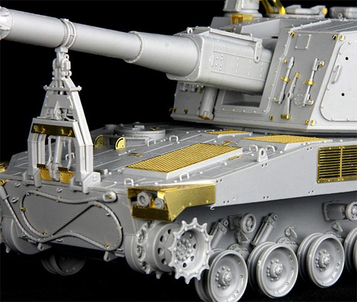陸上自衛隊 99式 自走155mm榴弾砲 ディテールアップパーツセットマルチマテリアル(ライオンロア1/35 Full Set of SuperDetail-Up Conversion SeriesNo.LAS35023)商品画像_3