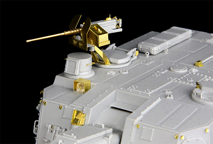 陸上自衛隊 99式 自走155mm榴弾砲 ディテールアップパーツセットマルチマテリアル(ライオンロア1/35 Full Set of SuperDetail-Up Conversion SeriesNo.LAS35023)商品画像_4