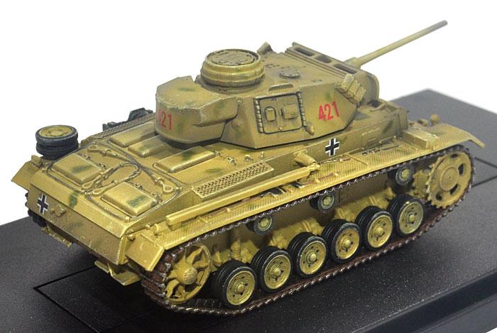 ドイツ 3号戦車 L型 後期型 第9装甲師団 第33戦車連隊 ロシア 1942完成品(ドラゴン1/72 ドラゴンアーマーシリーズNo.60448)商品画像_3