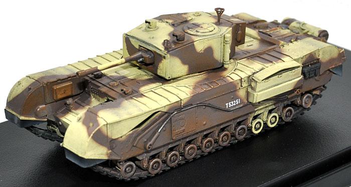 イギリス チャーチル歩兵戦車 Mk.3 チュニジア 1943完成品(ドラゴン1/72 ドラゴンアーマーシリーズNo.60569)商品画像_1