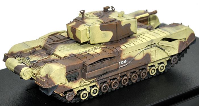 イギリス チャーチル歩兵戦車 Mk.3 チュニジア 1943完成品(ドラゴン1/72 ドラゴンアーマーシリーズNo.60569)商品画像_2