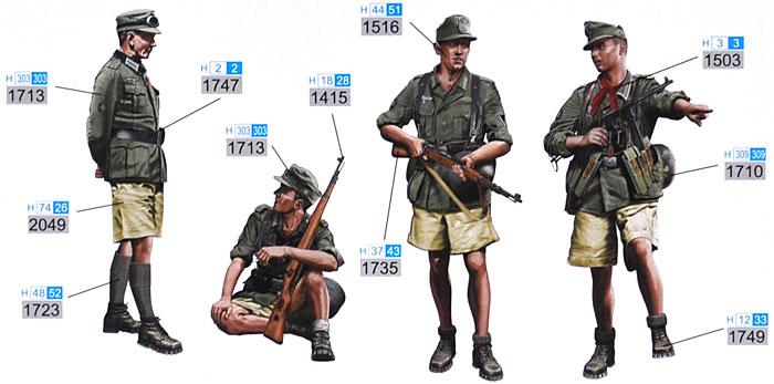 ドイツ 山岳猟兵 クレタ島 1941プラモデル(ドラゴン1/35 39-45 SeriesNo.6742)商品画像_1