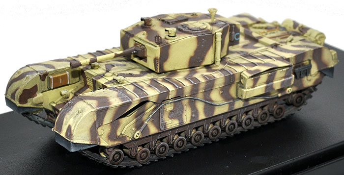 イギリス チャーチル歩兵戦車 Mk.3 第21戦車旅団 チュニス 1943完成品(ドラゴン1/72 ドラゴンアーマーシリーズNo.60431)商品画像_1