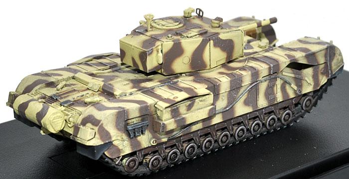 イギリス チャーチル歩兵戦車 Mk.3 第21戦車旅団 チュニス 1943完成品(ドラゴン1/72 ドラゴンアーマーシリーズNo.60431)商品画像_2