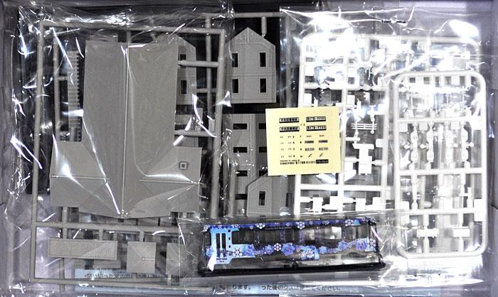 雪ミク電車 2012年モデル 札幌市交通局 3300形電車 札幌時計台セットプラモデル(フジミ雪ミク電車No.910048)商品画像_1