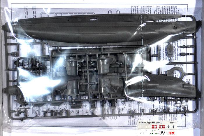 ドイツ Uボート タイプ2B (1943年)プラモデル(ICM1/144 シップ&ボートNo.S.010)商品画像_1