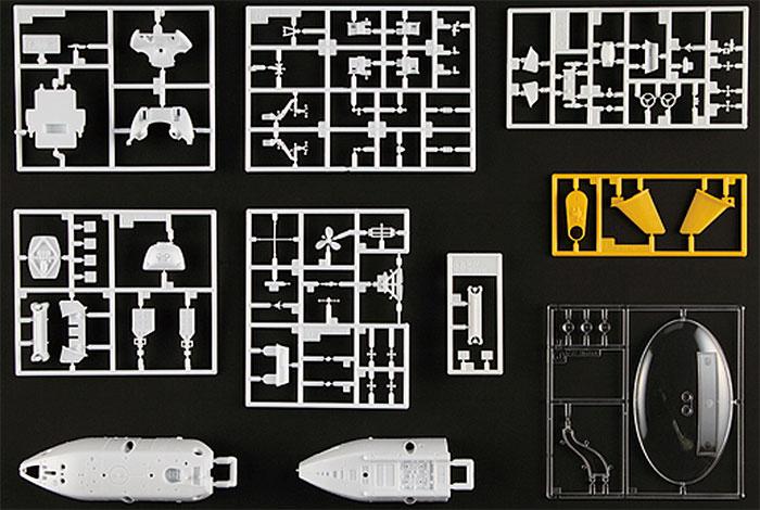 有人潜水調査船 しんかい6500 (推進器改造型 2012)プラモデル(ハセガワサイエンスワールド シリーズNo.SW003)商品画像_2