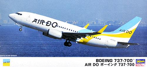 AIR DO ボーイング 737-700プラモデル(ハセガワ1/200 飛行機シリーズNo.042)商品画像