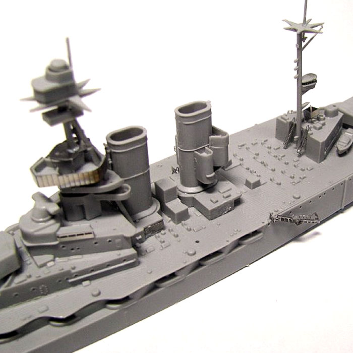 英国海軍 クイーン・エリザベス級戦艦 ウォースパイト 1915 (エッチングパーツ付)プラモデル(ピットロード1/700 スカイウェーブ W シリーズNo.W149E)商品画像_2