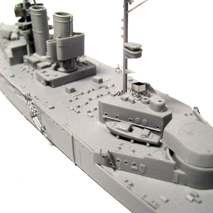 英国海軍 クイーン・エリザベス級戦艦 ウォースパイト 1915 (エッチングパーツ付)プラモデル(ピットロード1/700 スカイウェーブ W シリーズNo.W149E)商品画像_3