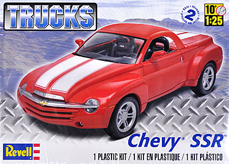 シェビー SSR (TRUCKS)プラモデル(レベルカーモデルNo.85-4052)商品画像