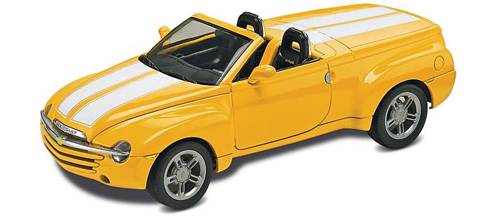 シェビー SSR (TRUCKS)プラモデル(レベルカーモデルNo.85-4052)商品画像_3