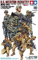 タミヤ1/35 ミリタリー コレクションアメリカ現用歩兵 イラク戦争 (人形8体セット)