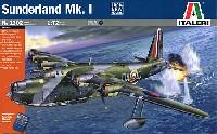 イタレリ1/72 航空機シリーズショート サンダーランド Mk.1