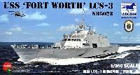 ブロンコモデル1/350 艦船モデルアメリカ 沿海域戦闘艦 LCS-3 フォートワース