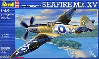 レベル1/48 飛行機モデルスーパーマリン スピットファイア Mk.15