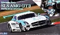 メルセデス ベンツ SLS AMG GT3 ペトロナス シンティアム (谷口信輝 レジン製ヘルメット付 1/8スケール)