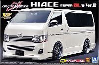 アオシマ1/24 VIP アメリカンシルクブレイズ 200系 ハイエース '10 Ver.3