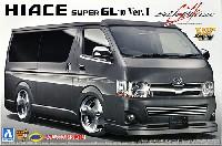 アオシマ1/24 VIP アメリカンシルクブレイズ 200系 ハイエース '10 Ver.1