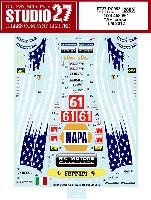 フェラーリ 458 #61 ル・マン 2012