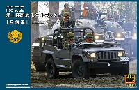 モノクローム1/35 AFV陸上自衛隊 1/2t トラック 斥候車