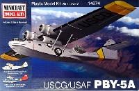ミニクラフト1/144 軍用機プラスチックモデルキット米沿岸警備隊/米空軍 PBY-5A カタリナ