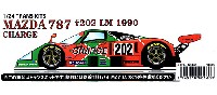 スタジオ27ツーリングカー/GTカー トランスキットマツダ 787 #202 CHARGE ル・マン 1990