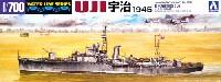 アオシマ1/700 ウォーターラインシリーズ日本海軍 砲艦 宇治 1945