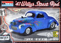 レベル/モノグラムカーモデル'41 ウィリス ストリート ロッド