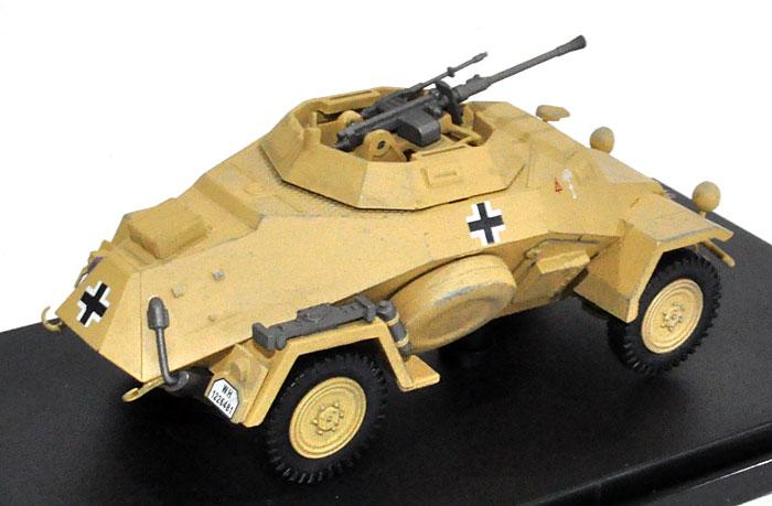 ドイツ Sd.Kfz.222 4輪装甲偵察車 第15装甲師団完成品(ホビーマスター1/48 グランドパワー シリーズNo.HG1404)商品画像_2