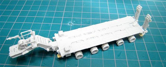 M1070/1000 H.E.T. (重装備輸送車)レジン(マツオカステン1/144 オリジナルレジンキャストキット (AFV)No.MATUAFV-055)商品画像_3